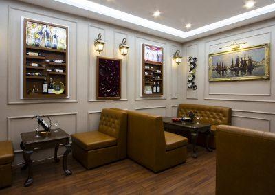 Dự án cải tạo Cigar Lounge