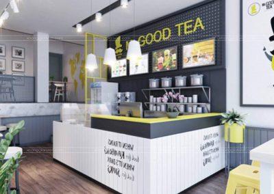 Dự án thương hiệu trà Mr Good Tea