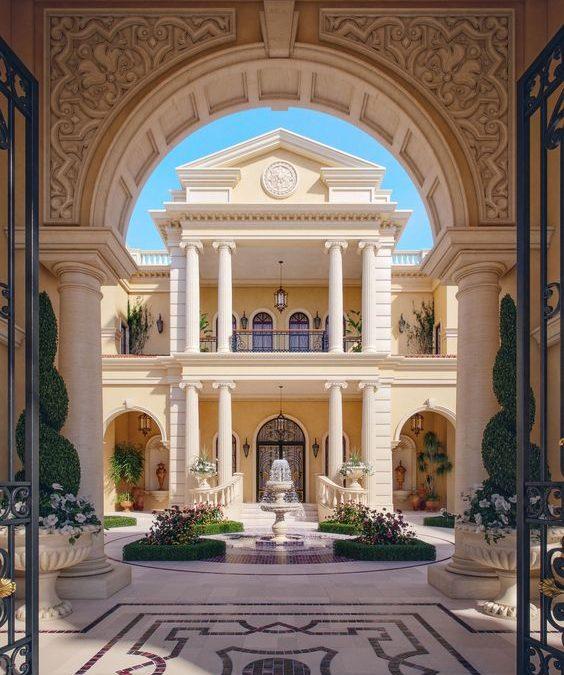 Đặc trưng cơ bản của phong cách thiết kế biệt thự cổ điển