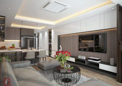 Dự án hoàn thiện nội thất nhà ở gia đình